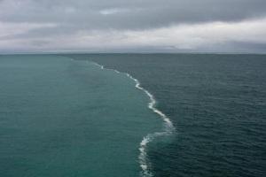 Två hav vid Alaskagolfen