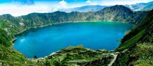Krater i Ecuador