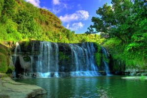 Guam är väldigt naturskönt