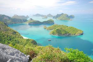 Vietnam har kust mot Thailandviken
