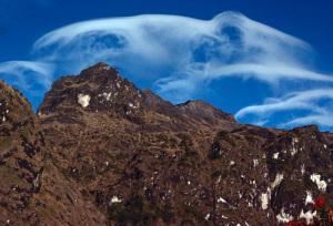 Mount Wilhelm i Papua Nya Guinea