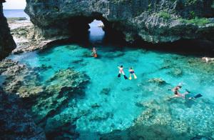 Niue har underskön natur
