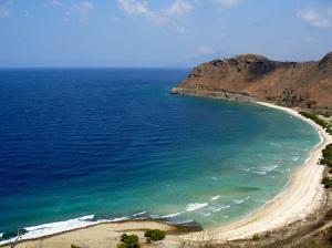 Fin strand i Östtimor
