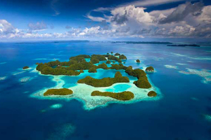Palau har en sagolik natur