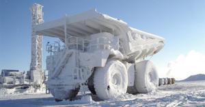 Ryssland har ett växlande klimat