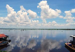 Tonle Sap i Kambodja