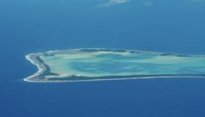 Atoll i Tuvalu